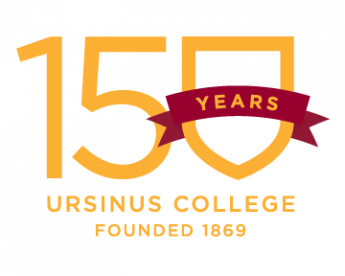 Ursinus College 150 years logo