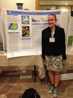 Rose Blanchard presented at a Nuclear Physics conference in Hawaii.