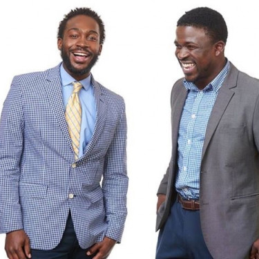 Mubarak Lawrence '10 (left) and Alex Peay '09 founded Ones Up, an organization that grew out ...