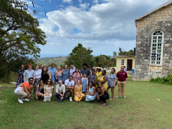 Ursinus Bonner Leaders in Jamaica, March 2020